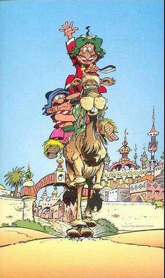 C'est Iznogoud ! Superman, Batman, Vintage Comic Books, Vintage Comics, Comic Book Covers, Comic Book Heroes, Tamil Comics, Drawings Pinterest, Caricature Drawing