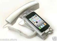 Com tornar a la època dels telèfons fixes amb el teu mòbil > iClooly Phone Handset Stand
