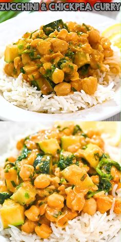 Vegetarian Recipes Videos, Vegetable Recipes, Indian Food Recipes, Cooking Recipes, Healthy Recipes, Zucchini Curry, Chicken Zucchini, Healthy Zucchini, Easy Dinner Recipes