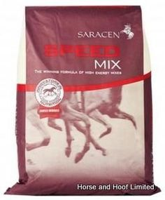 Saracen Speed Mix 20kg Saracen Speed Mix is a high performance mix to meet the demands of horses that expend their energy in an intense fashion not suited towards endurance athletes.