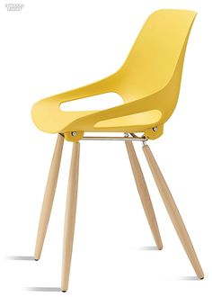 NeoCon 2015 Product Preview: Seating | Tazza chair in polypropylene and beech by Borgo. #chair