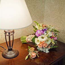 #Love #cute #lovely #flowers #happiness #wedding day #church #bridesmaids #girls #pink  #blue #green #violet Pink Blue, Blue Green, Bridesmaids, Wedding Decorations, Wedding Day, Table Lamp, Happiness, Girls, Flowers