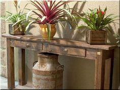 Termékek antik faanyagokból - Antik bútor, egyedi natúr fa és loft designbútor, kerti fa termékek, akácfa oszlop, akác rönk, deszka, palló