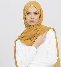 Mustard Modal Hijab - £12.99 : Inayah, Islamic Clothing & Fashion, Abayas, Jilbabs, Hijabs, Jalabiyas & Hijab Pins