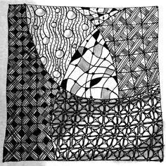 It's a String Thing Zentangle Challenge 44