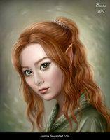 Queen of the Secret Garden by Esmira