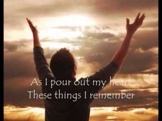 I lift my hands by Chris Tomlin    Key verses:   Lamentations 3:22-24; Psalm 46:10    Be still, there is a healer  His love is deeper than the sea  His mercy, it is unfailing  His arms are a fortress for the weak    Let faith arise  Let faith arise    I lift my hands to believe again  You are my refuge, You are my strength  As I pour out my heart, these things...