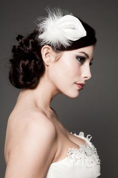 wedding hairstyles with feathers - Google Search