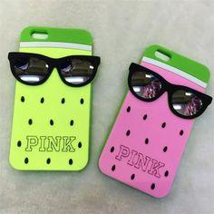 Victoria's Secret Pink Coole Silikon Handyhülle für iphone 5/5S, iphone 6/6Plus - Prima-Module.Com
