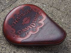 Custom Leather | Custom made leather motorcycle seats
