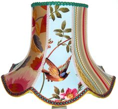 stunning patchwork lampshade
