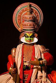 Kathakali Dancer, Cochin, India