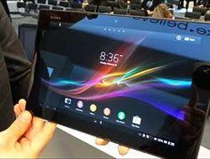 Demo en vídeo del 'tablet' Xperia Z de Sony      http://www.europapress.es/portaltic/gadgets/noticia-demo-video-tablet-xperia-sony-20130225153500.html