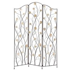 I pinned this Cosmopolitan Capiz Room Divider from the Bold Black, Bright White event at Joss and Main!