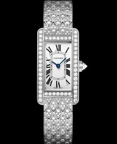 Cartier Tank Americaine Small Model Watch