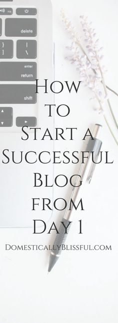 Wow! This sounds so easy!! How to Start a Self Hosted WordPress Blog in 3 easy steps.