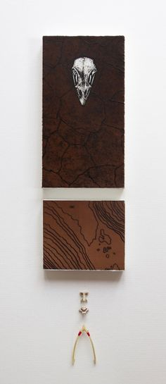 'Spirit of the Moor' by Hester Cox (collagraph and drypoint on wooden blocks with grouse bones) Intaglio Printmaking, Collagraph, Mixed Media Artists, Limited Edition Prints, Art Prints, Collections, Grouse, Projects, Wooden Blocks
