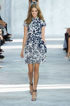Pin for Later: DVF Just Outdid 40 Years of Fashion History Diane von Furstenberg Spring 2015