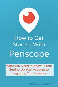 How to Get Started With Periscope - Everyone sucks at Periscope right now - because it's so fresh, everyone is a newbie! Find out how you can get in and get started on this popular new social media platform.