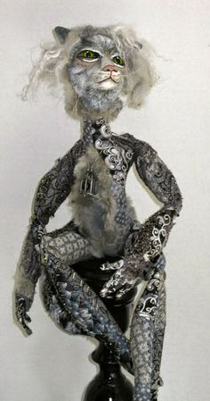 """Zia Joey's Art Dolls, Grizabella from the musical """"Cats"""""""