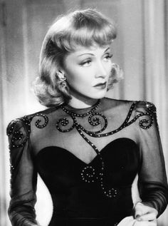 For the lovely German-American actress and screen icon, Marlene Dietrich. Hollywood Icons, Old Hollywood Glamour, Golden Age Of Hollywood, Vintage Glamour, Vintage Hollywood, Hollywood Stars, Hollywood Actresses, Classic Hollywood, Vintage Vogue