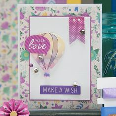 Purple & Mint Card Kit - Card Kit of the Month Club