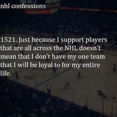 so many great players around the league, but my heart will always belong to the Flyers!