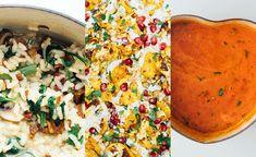 Vegansk ukemeny: uke 9, 2019 - Vegetarbloggen Moussaka, Risotto, Vegan, Ethnic Recipes, Food, Spinach, Essen, Meals, Vegans