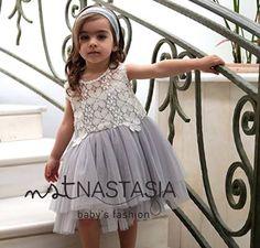 Βαπτιστικά φορέματα Nst Nastasia! www.nstnastasia.com Girls, Summer, Toddler Girls, Summer Time, Daughters, Maids