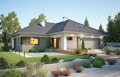 House Plans Mansion, Bungalow House Plans, Dream House Plans, Brick House Designs, Cool House Designs, House Architecture Styles, House Outside Design, 2 Storey House Design, Beautiful House Plans