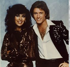 Marilyn McCoo turns 71 on 9-30-1943. She's known by most for her years as a member of The 5th Dimension and also as one of the hosts on TVs Solid Gold (shown here in that capacity with fellow host, Andy Gibb). She's been married to fellow 5th Dimension member Billy Davis Jr since 1969.