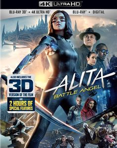 Shop Alita: Battle Angel [Includes Digital Copy] Ultra HD Blu-ray/Blu-ray] Ultra HD Blu-ray/Blu-ray/Blu-ray at Best Buy. Find low everyday prices and buy online for delivery or in-store pick-up. Cyborg Girl, Female Cyborg, Great Movies, New Movies, Movies To Watch, 2017 Movies, Netflix Movies, Family Movies, Funny Movies