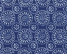 Ravena  Navy Starburst from Dear Stella   1 yard by JAQSFabrics, $10.00