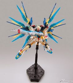 RG 1/144 Strike Freedom Gundam Clear Ver. C3 x Hobby 2014 Exclusive - Gundam Kits Collection News and Reviews