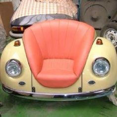 VW chair... holy crap I absolutely need this in my life.