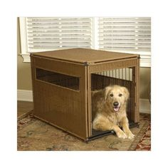 "Mr. Herzher's Pet Residence Extra Large Dark Brown 42"" x 28"" x 31"""