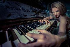 Dusty Piano by Jørn Lavoll