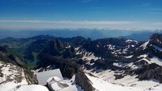 view from Mount Säntis!