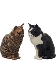 Quail Multicolour Cats Salt and Pepper Shakers | Home | Liberty.co.uk