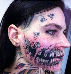 Woman zombie