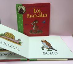 Aprendo los animales con Grufalo, con este simpático personaje los niños podrán aprender los número, los contrarios, los sonidos, los colores de una manera muy sencillita, en www.papelicopy.com