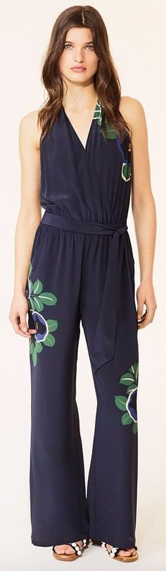 b2ad4e3a3d Tory Burch Avalon Jumpsuit Resort 2017