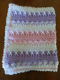 kisses baby blanket....free pattern