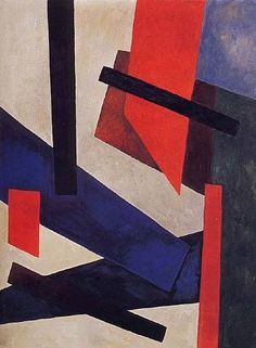 Composition Color,  Alexandra Exter, ca. 1920.