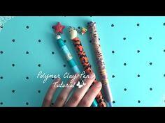 Polymer Clay Pen Tutorial: Season Inspired Clay Pens