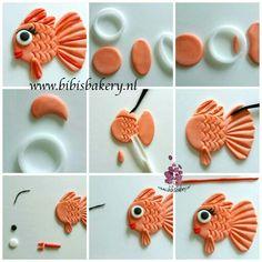 Fondant fish tutorial