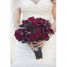 Dramatic dark reds and purples fantastic for winter