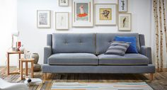 The Home Spiriit sofa - Bergen. So french campany and so scandinavian look.