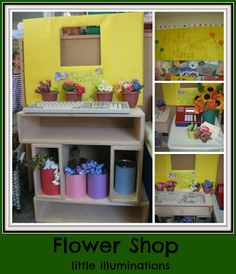 How Does Your Garden Grow? Learning About Plants in Pre-K. This could become a center activity during a plant unit and be a dramatic play center April Preschool, Preschool Garden, Preschool Centers, Preschool At Home, Preschool Classroom, Preschool Activities, Preschool Websites, Classroom Setup, Dramatic Play Themes