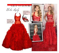 """""""Blake Lively Age of Adaline Premiere April 19 2015"""" by swweetalexutza ❤ liked on Polyvore featuring Monique Lhuillier, Judith Leiber, GetTheLook, CelebrityLook, blakelively and AgeofAdaline"""